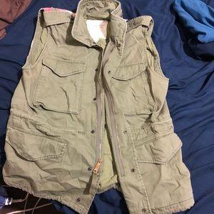 Ralph Lauren Military Vest Denim&supply size Large